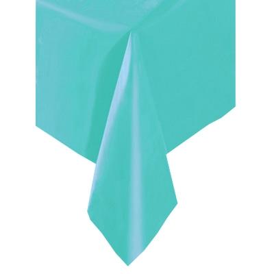 Tischtuch einfarbig türkis 137x274cm