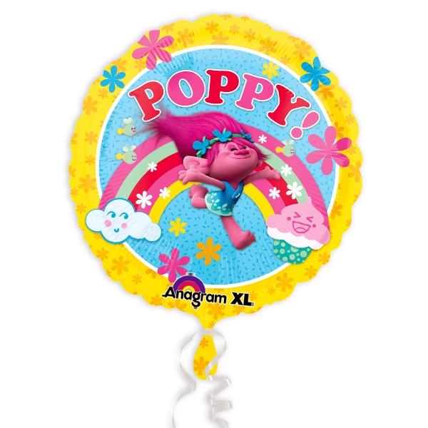 Trolls Folienballon Poppy, 35cm