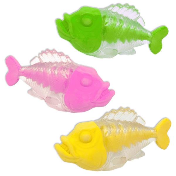 Piranha Radierer, Fisch-Radiergummi für Kinder & Teenager, 1 Stück