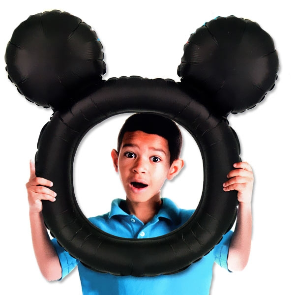 Mickey Maus, aufblasbarer Bilderrahmen, 68cmx  63cm