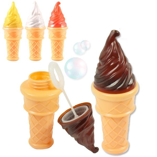"""Seifenblasen """"Eistüte"""" 1 Stk, 59ml, cooles Mitgebsel fürs Sommerfest"""