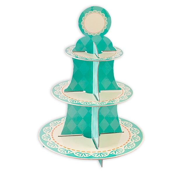 """Muffin-Etagere """"Tiffany"""" zum Anbieten von Cup Cakes, 1 Stück"""