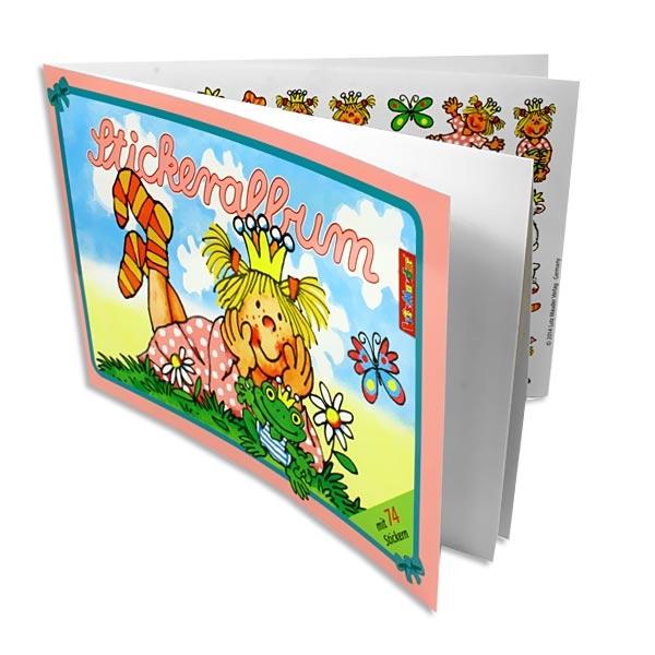 Stickeralbum Prinzessin Miabella mit 74 Stickern für kleine Mädchen