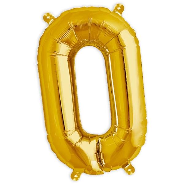 Folienballon Buchstabe O für die Personalisierung in der Deko, 41cm