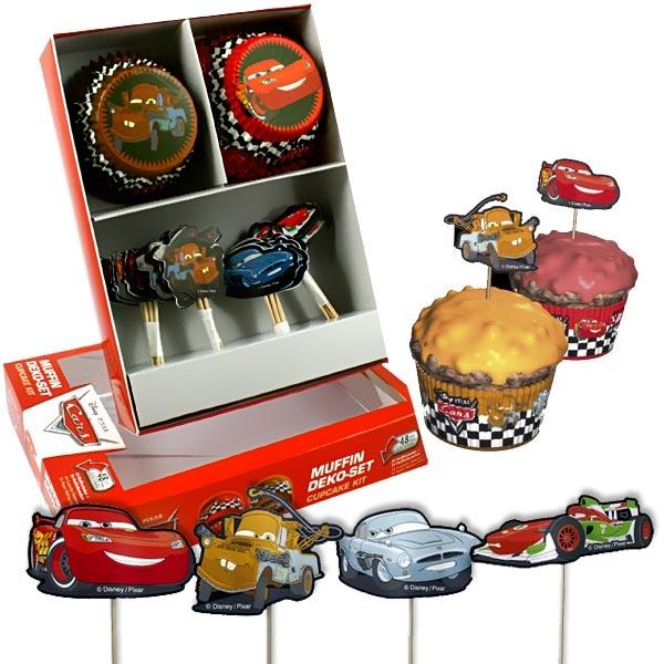 Cars Muffinsdeko-Set 48 -tlg.