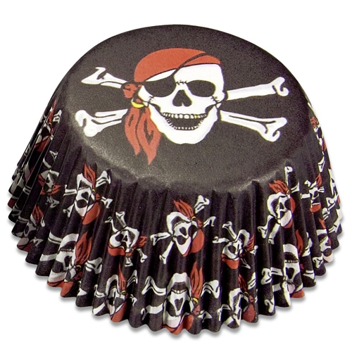 Förmchen für Piratenmuffins, 50 St.