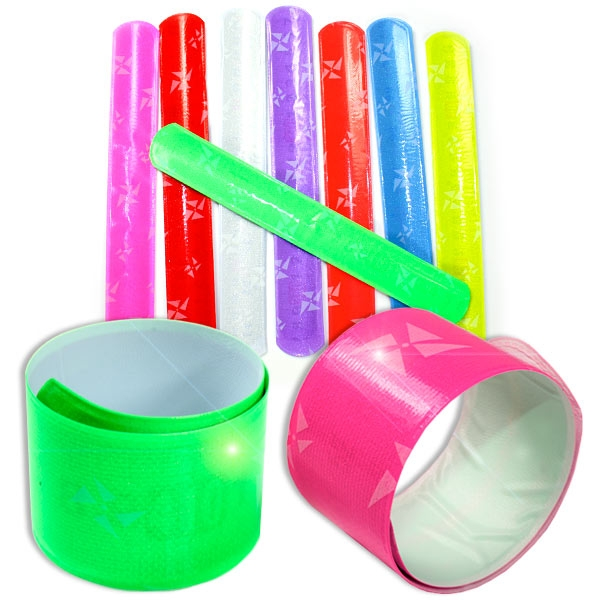 1 Klatscharmband in neonfarben, 22cm, verschiedene Farben möglich