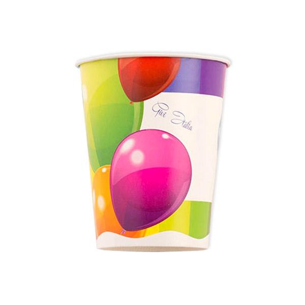 """Partybecher """"Ballons"""", 8 Stück, 250 ml"""