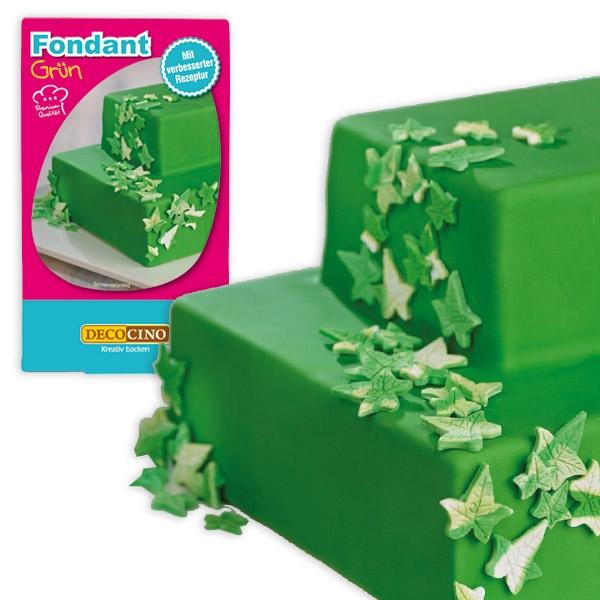 Rollfondant grün 250 g Zuckermasse für Ummantelung von Torten/Kuchen