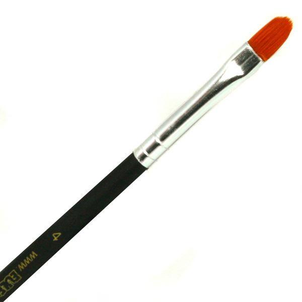 Lippenpinsel, Grösse 4, Profi-Schminkpinsel, aus Qualitäts-K