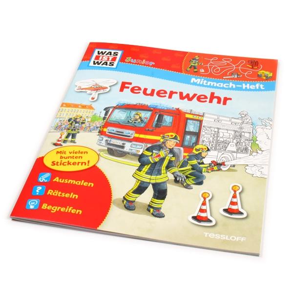 """WAS IST WAS-Mitmach-Heft """"Feuerwehr"""""""