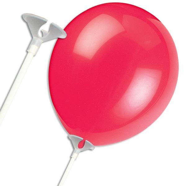 Ballonstab zur Befestigung, 40cm, nützliches Ballonzubehör Kinderparty