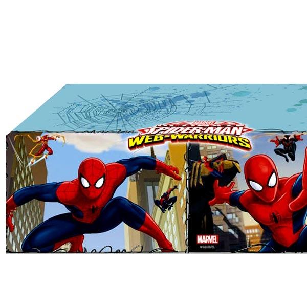 Spiderman Web-Warriors Tischdecke, echt beeindruckend, aus PVC-Folie