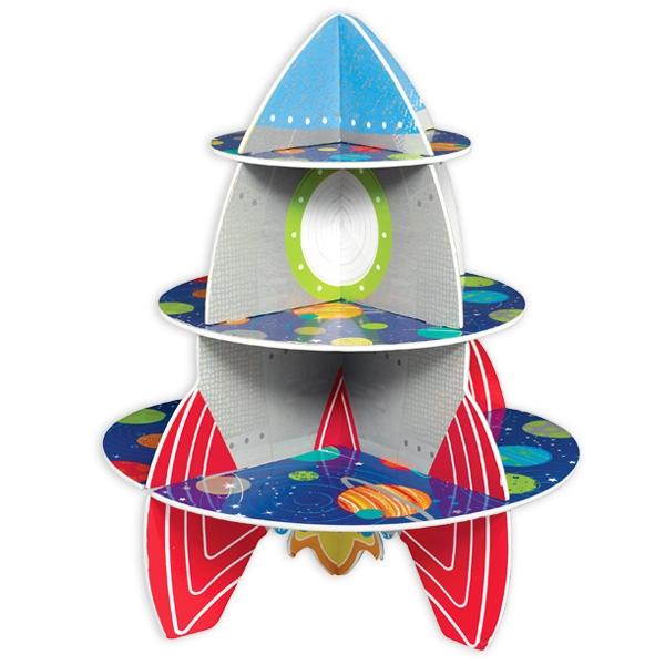 Rakete Muffin-Etagere, 27cm x 25cm