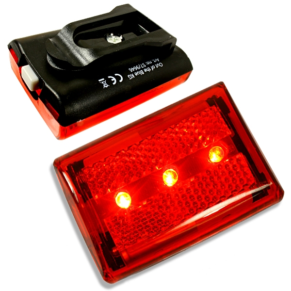 LED Sicherheitsanhänger, inkl. Batterien, 3 Modi