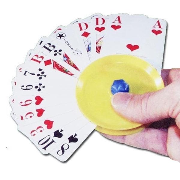 Kartenhalter aus Kunstoff 1 Stück Kartenspiele-Zubehör für Kinder