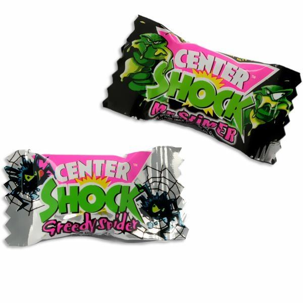 Center Shock Monster, 1 super saurer Kaugummi, hygienisch in Folie