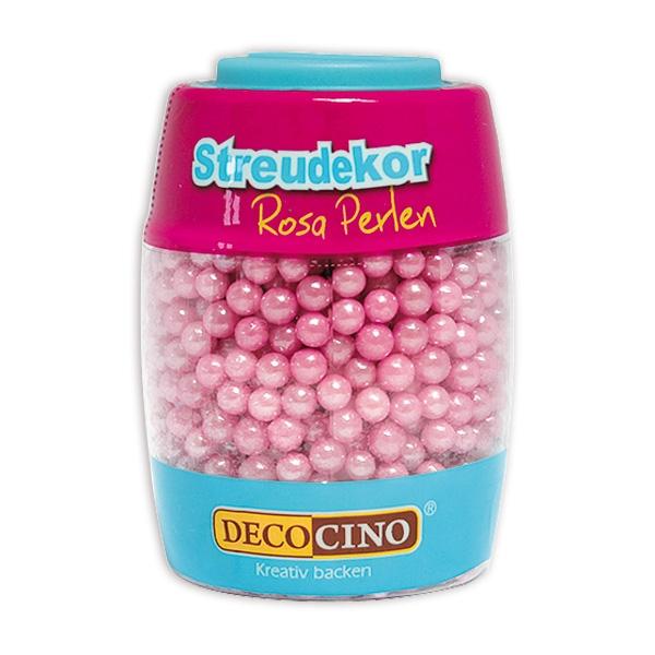 Zuckerperlen Rosa, 65g, 0,5 cm, Streudekor für Partygebäck