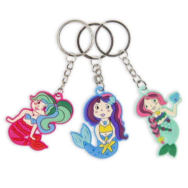 Meerjungfrau Schlüsselanhänger, 1 Stück, verschiedene Motive