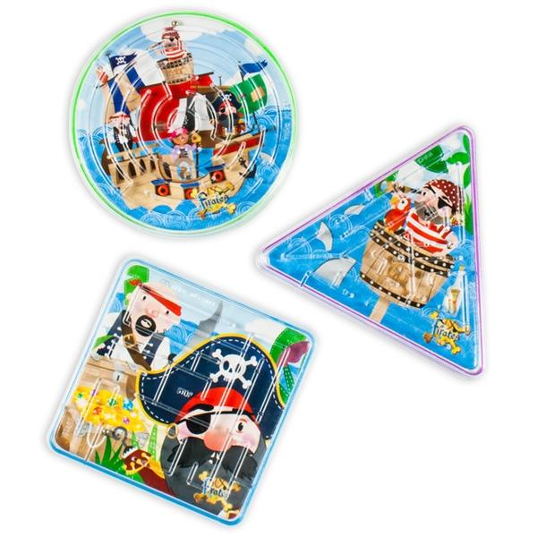 Piraten-Geduldspiel, tolles Mitgebsel für Piratenparty kleiner Kinder, 1 Spiel