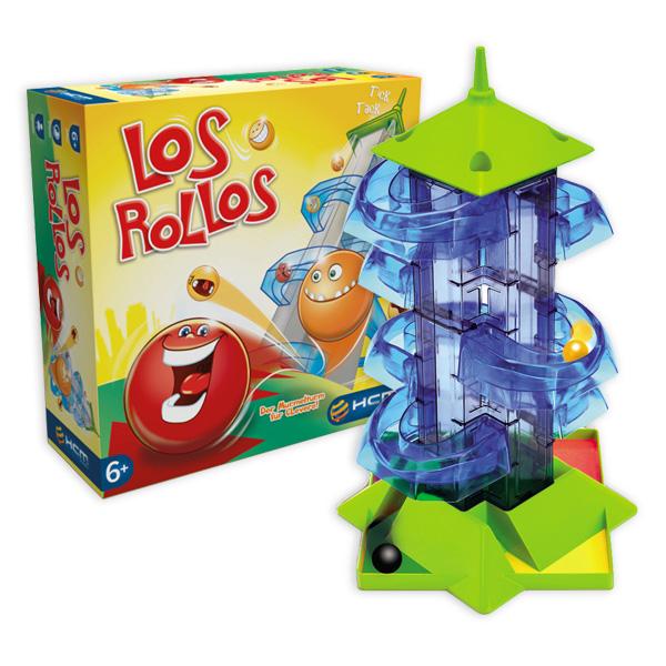 Los Rollos - der Murmelturm für Clevere