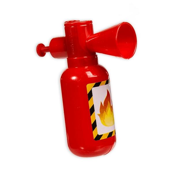 Feuerlöscher Wasserspritzer, 1 Stück aus Kunststoff, 11 × 9 × 4 cm, rot