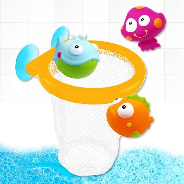 """Badewannenspielzeug """"Ocean"""" Wurfspiel, 4-teiliges Set"""