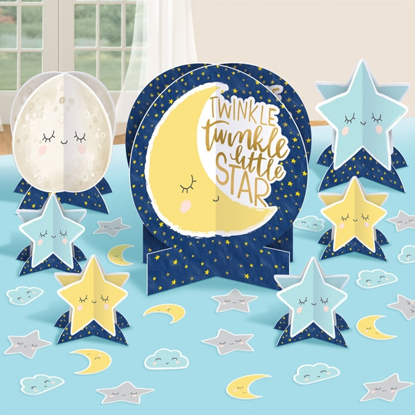 Twinkle - Little Star Tischdeko-Set, 27-tlg, Babyparty