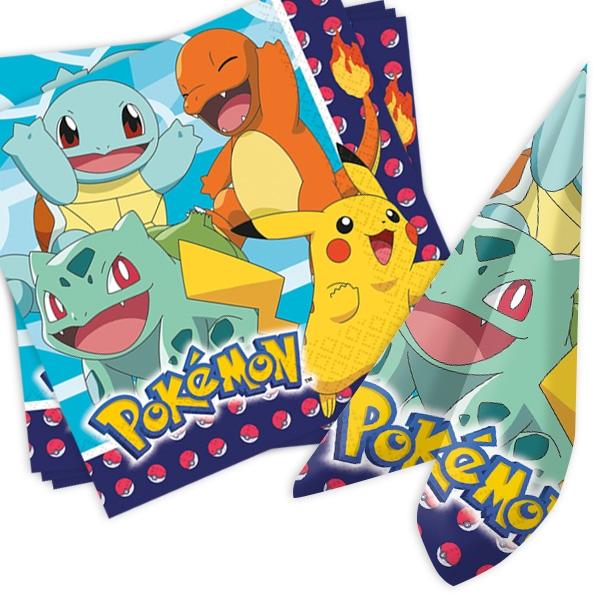 Pokemon Papierservietten, 16er, 33cm x 33cm