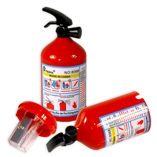 Feuerlöscher-Spitzer für Kinder-Feuerwehrparty, 1 cooler Anspitzer