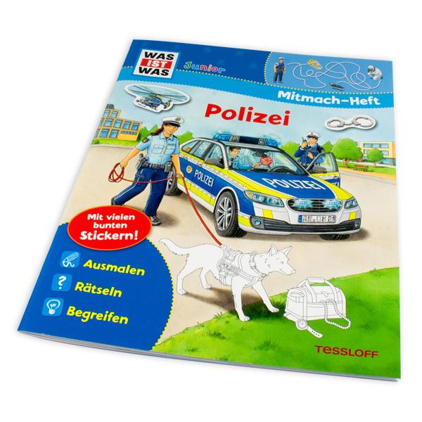 """WAS IST WAS-Mitmach-Heft """"Polizei"""""""