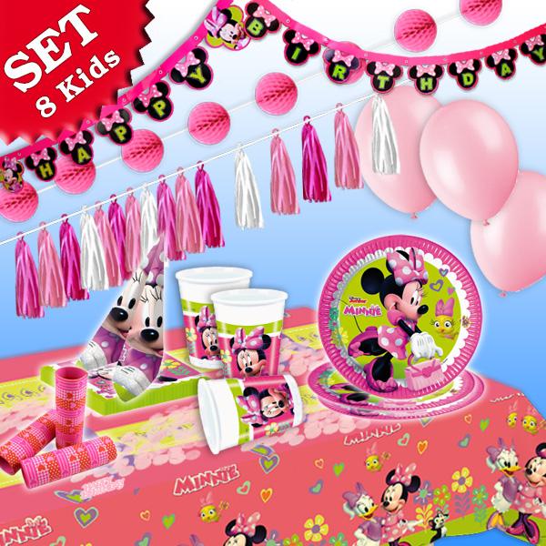 Minnie Maus Happy Helpers Set, 8 Kids, 54tlg