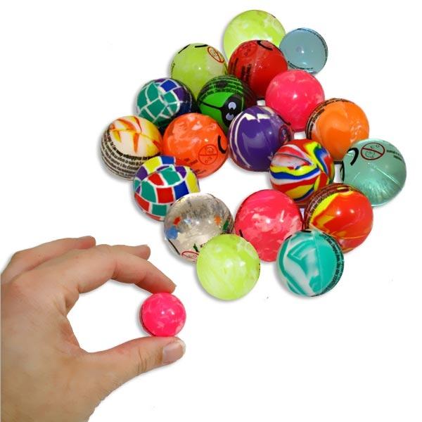 1 x Mini Flummi, Durchm. 2,5cm, Mini Springball