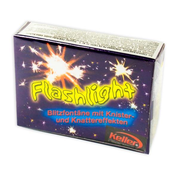 """""""Flashlight"""", Blitzknaller, 8 Stk., Blitzfontäne mit Knistern-und Knatter-Effekt"""