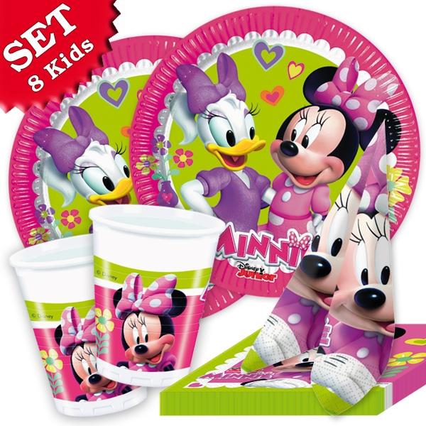 Minnie Maus Happy Helpers Set, 8 Kids, 36-tlg