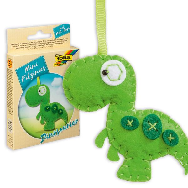 Mini Filztier - Dinosaurier