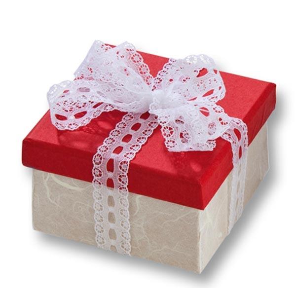 1 Pappbox Mini ECKIG, 7,5x7,5x4,5 cm, kreative Bastelidee, Geschenkbox basteln