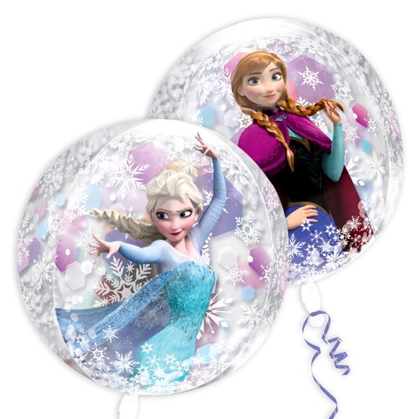 Frozen Folieballon, 40cm, transparent