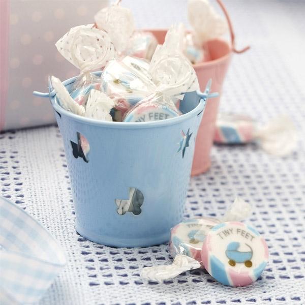 """""""Tiny Feet"""" Babyparty, Bonbons, 1 Tüte, 215 g"""