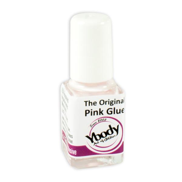 Hautkleber Pink Glue für Glitzer-Tattoos, 7ml