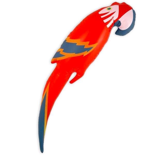 Papagei - aufblasbare Partydeko, Wassertier