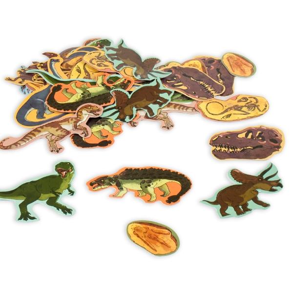 Dinosaurier Konfetti - 39 Teile, 3cm bis 6cm