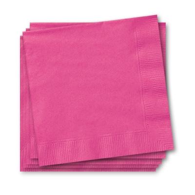 Servietten in Pink 20 Stück, 25 cm, Papierservietten für alle Anlässe