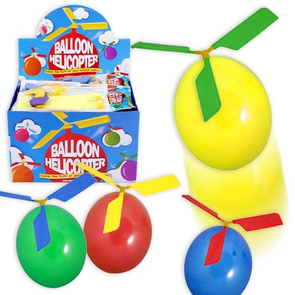 Großpack Bastelsets für Ballon-Helikopter, 24 Stück