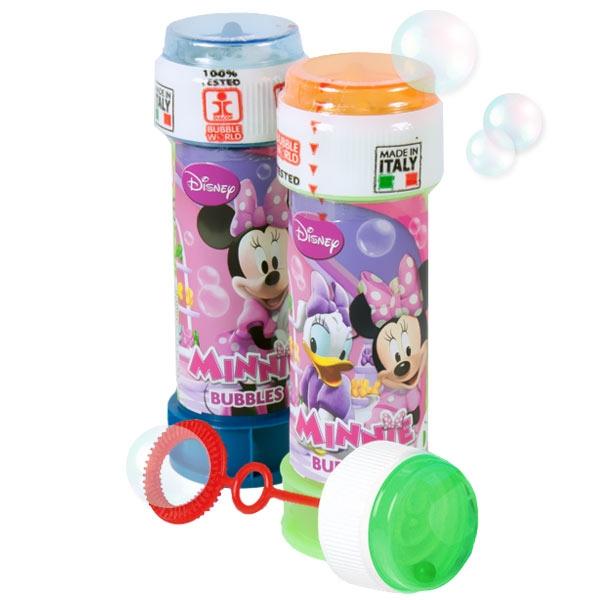 Minnie Maus Seifenblasen mit Geduldspiel, 60ml, 1 Stk