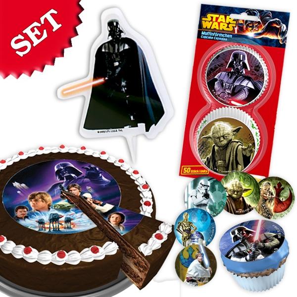 Star Wars Fooddeko im Set 64 -tlg.