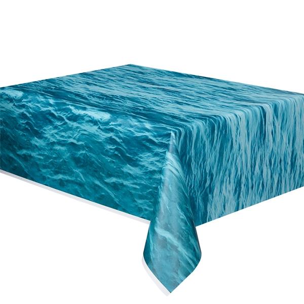 Ozean Tischdecke, Folie,1,4 × 2,7 m, Partytischdecke mit Meeresmotiv