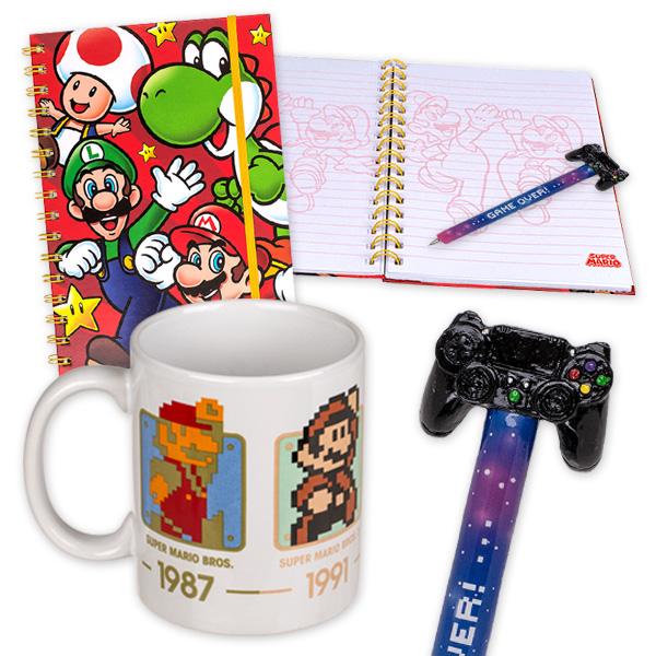 Super Mario Geschenkeset, 3-teilig