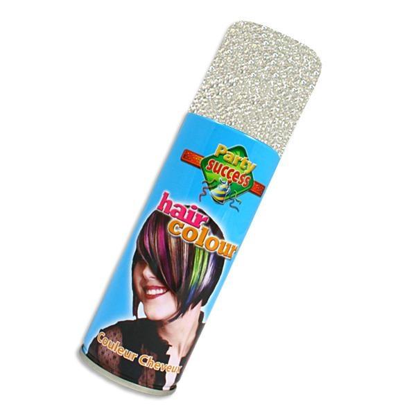 Glitzer-Haarspray silbern, hohe Deckkraft, leicht auswaschbar,125ml