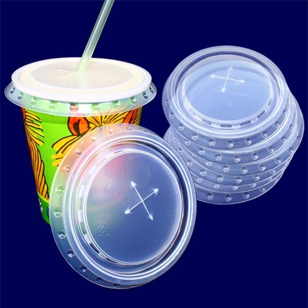 Shake Deckel Set, 8er Pck, Ø 75,5mm, für die passenden Milchshake-Becher